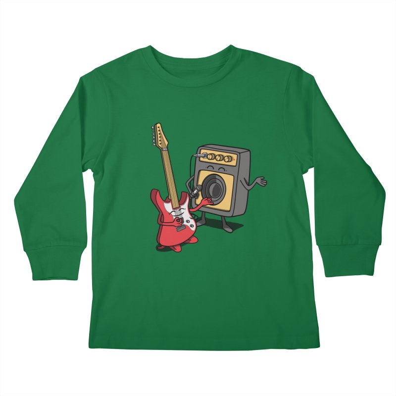 Rock stars. Kids Longsleeve T-Shirt by JCMaziu shop