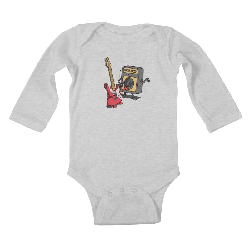 Rock stars. Kids Baby Longsleeve Bodysuit by JCMaziu shop