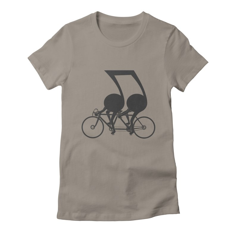 Tandem. Women's Fitted T-Shirt by JCMaziu shop
