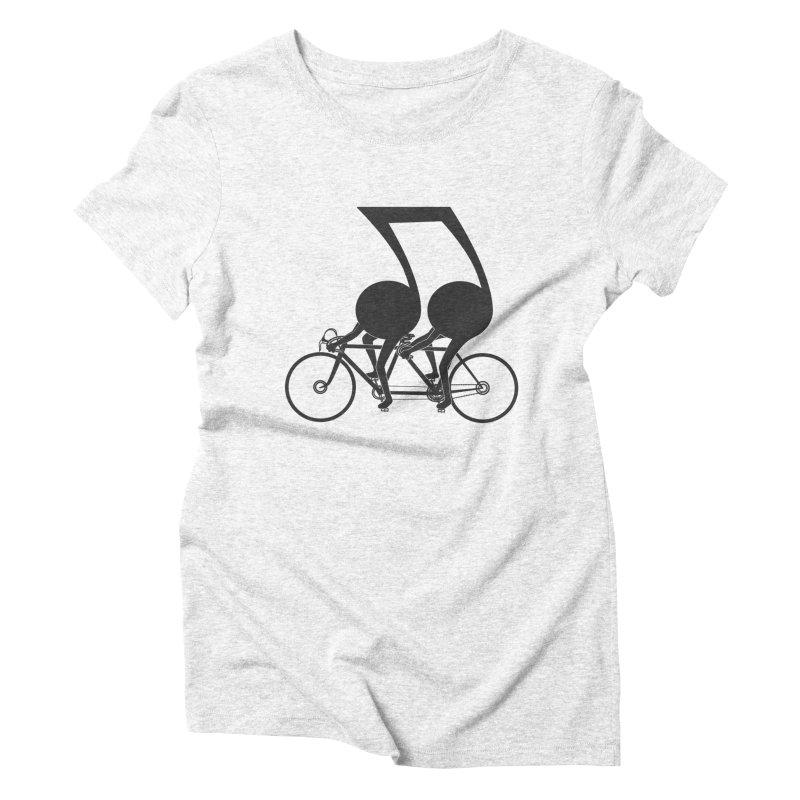 Tandem. Women's Triblend T-shirt by JCMaziu shop