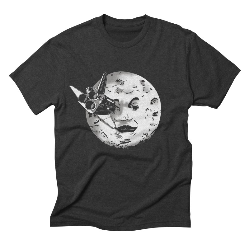 Melie's Moon: Times are changing. Men's Triblend T-shirt by JCMaziu shop