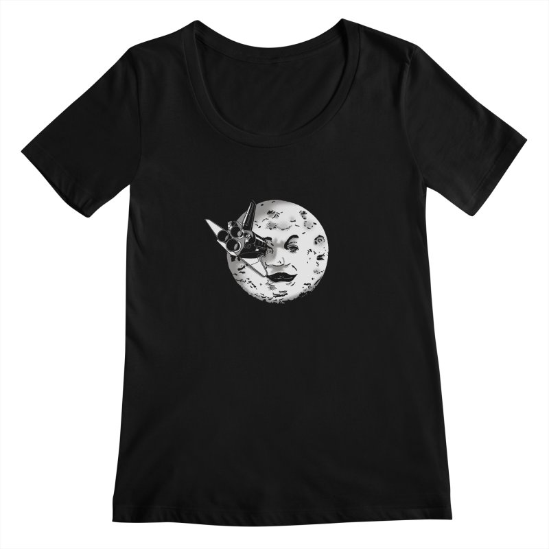 Melie's Moon: Times are changing. Women's Scoopneck by JCMaziu shop