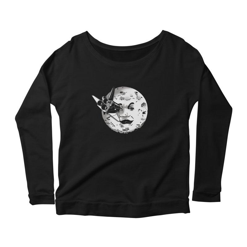 Melie's Moon: Times are changing. Women's Longsleeve Scoopneck  by JCMaziu shop