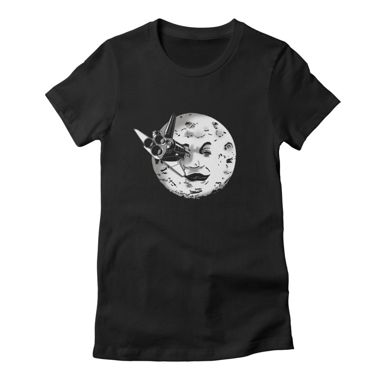 Melie's Moon: Times are changing. Women's Fitted T-Shirt by JCMaziu shop