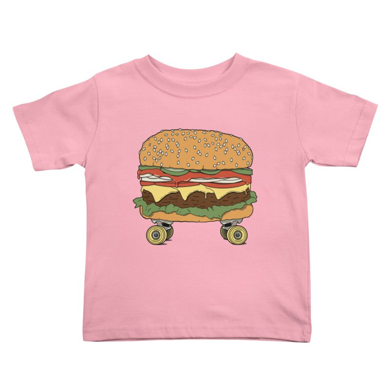 Nose+cheese+tail. Kids Toddler T-Shirt by JCMaziu shop