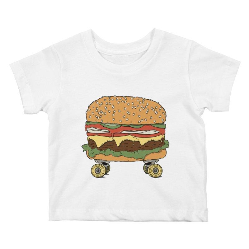 Nose+cheese+tail. Kids Baby T-Shirt by JCMaziu shop