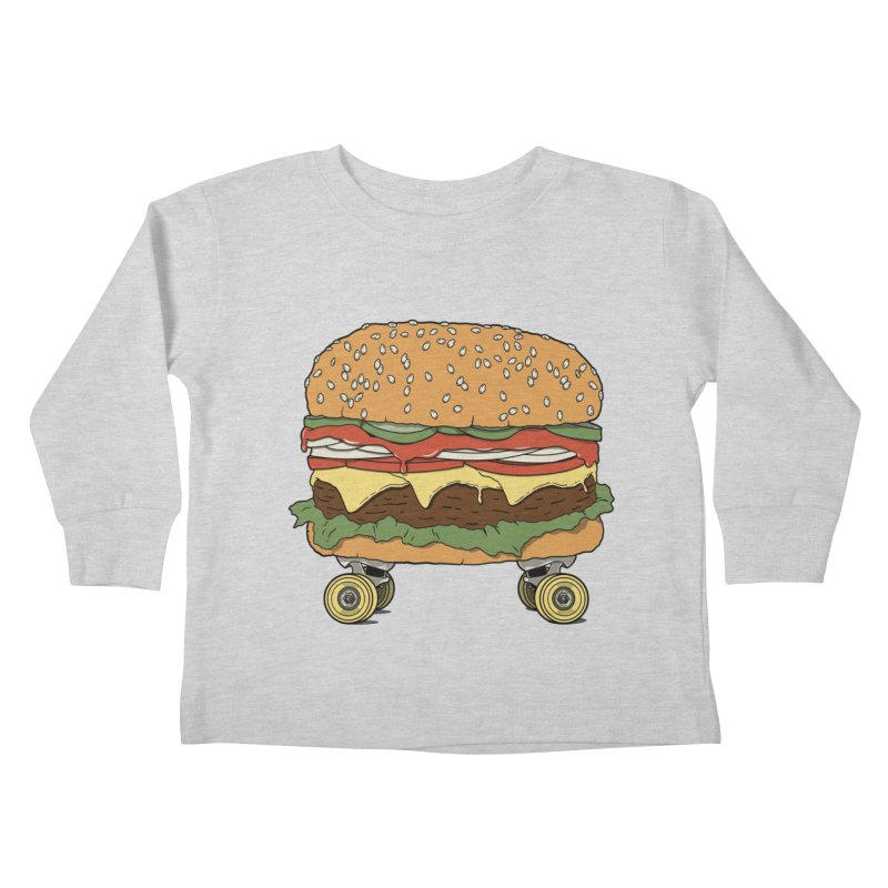 Nose+cheese+tail. Kids Toddler Longsleeve T-Shirt by JCMaziu shop