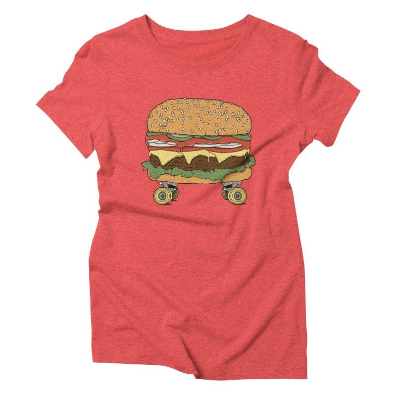 Nose+cheese+tail. Women's Triblend T-Shirt by JCMaziu shop
