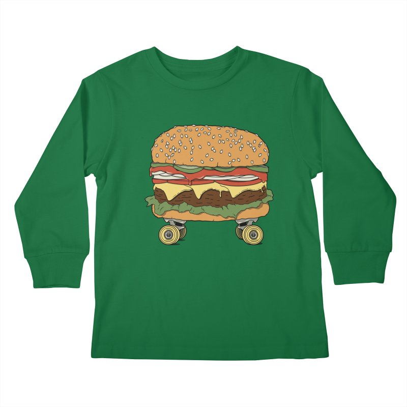 Nose+cheese+tail. Kids Longsleeve T-Shirt by JCMaziu shop