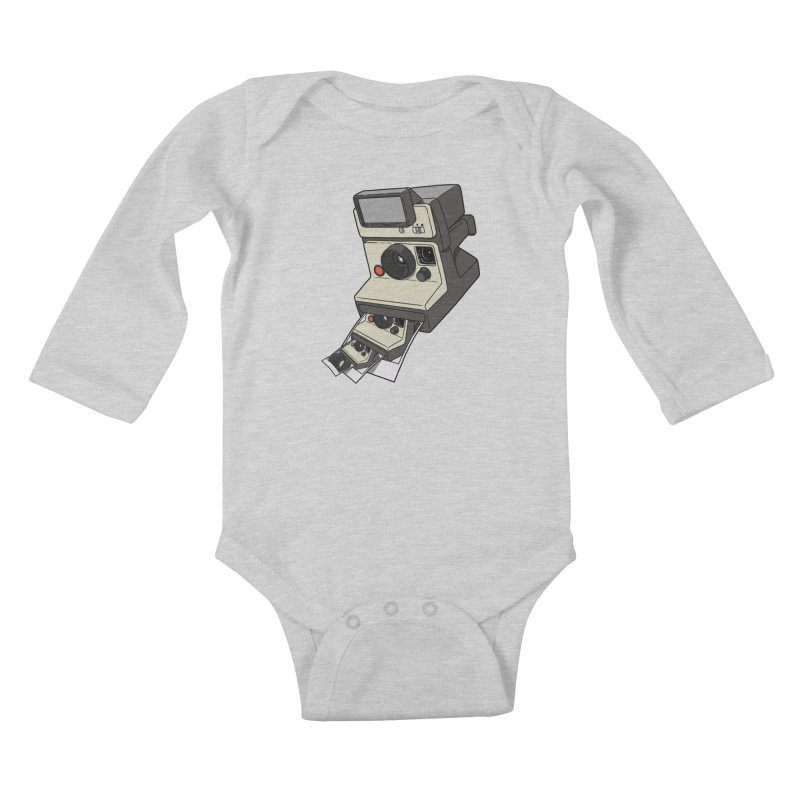 Cam-ception. Kids Baby Longsleeve Bodysuit by JCMaziu shop