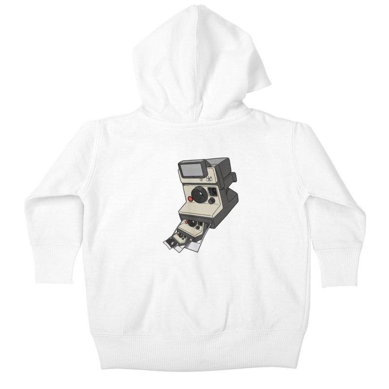 Cam-ception. Kids Baby Zip-Up Hoody by JCMaziu shop