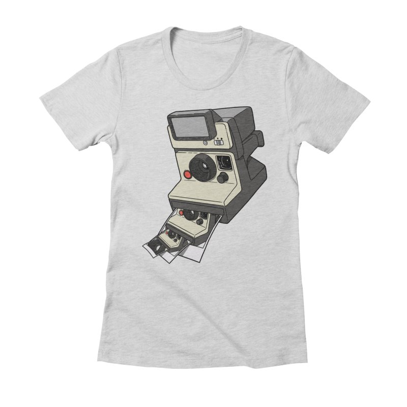 Cam-ception. Women's Fitted T-Shirt by JCMaziu shop
