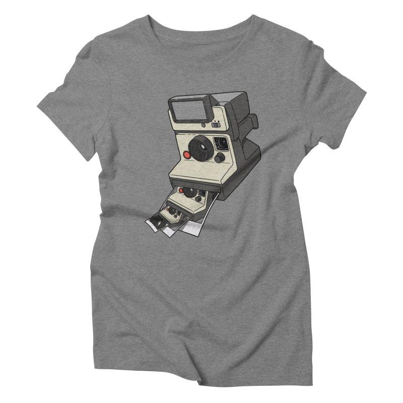 Cam-ception. Women's Triblend T-Shirt by JCMaziu shop
