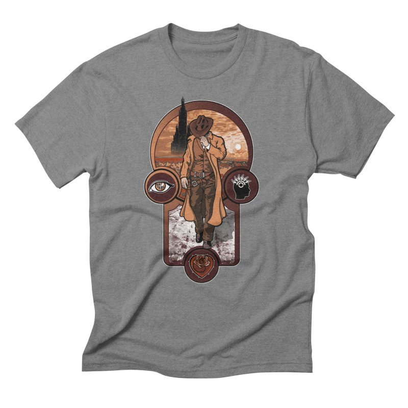 The gunslinger creed. Men's Triblend T-Shirt by JCMaziu shop