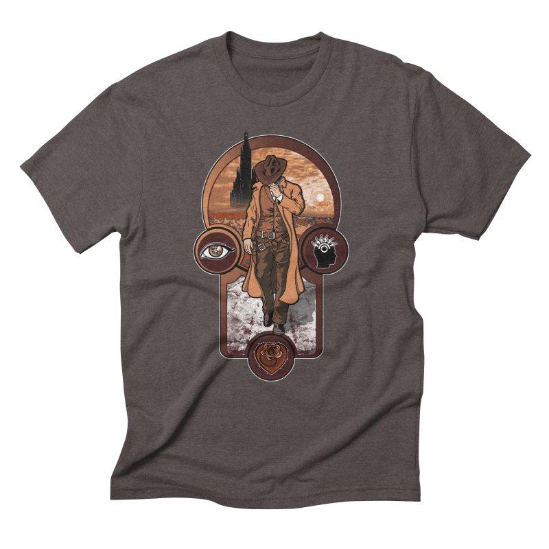 The gunslinger creed. Men's Triblend T-shirt by JCMaziu shop