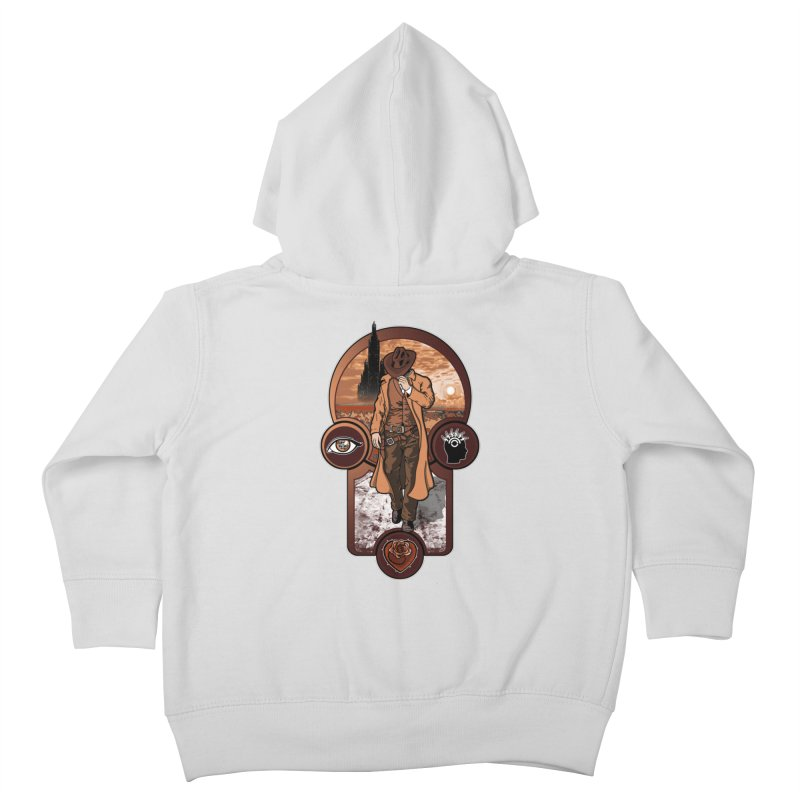 The gunslinger creed. Kids Toddler Zip-Up Hoody by JCMaziu shop