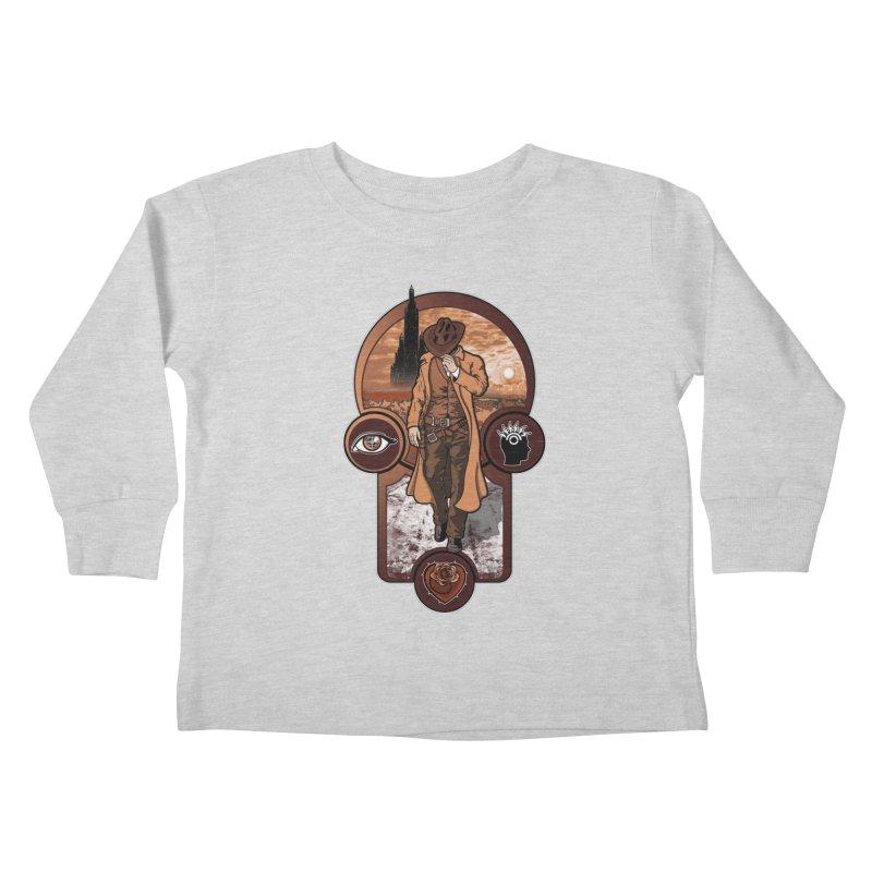 The gunslinger creed. Kids Toddler Longsleeve T-Shirt by JCMaziu shop