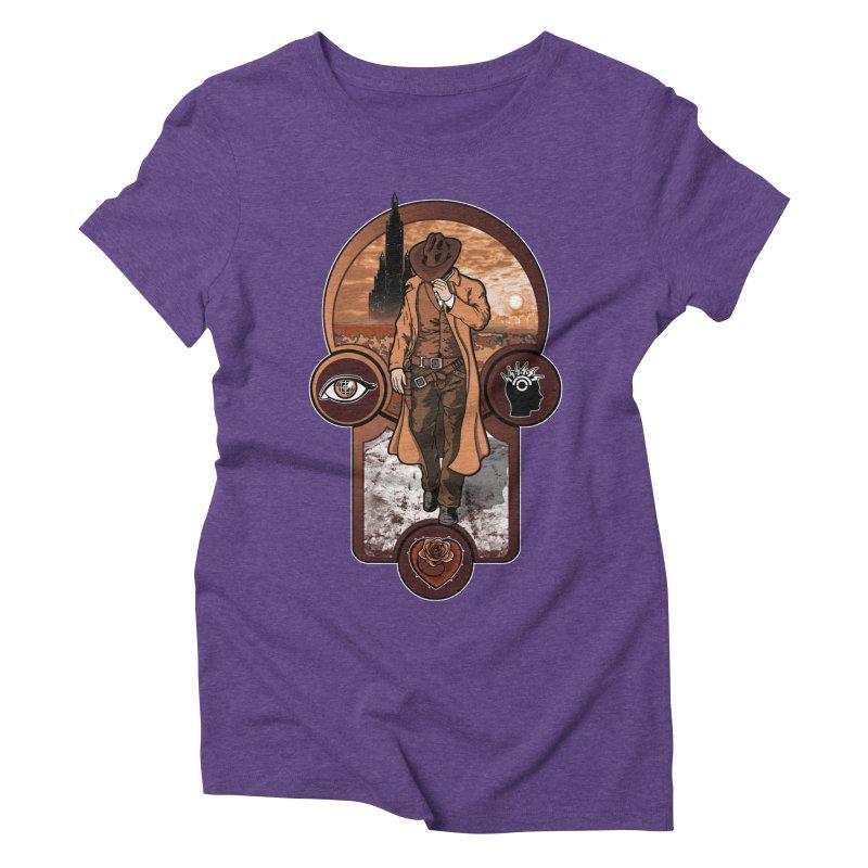 The gunslinger creed. Women's Triblend T-Shirt by JCMaziu shop
