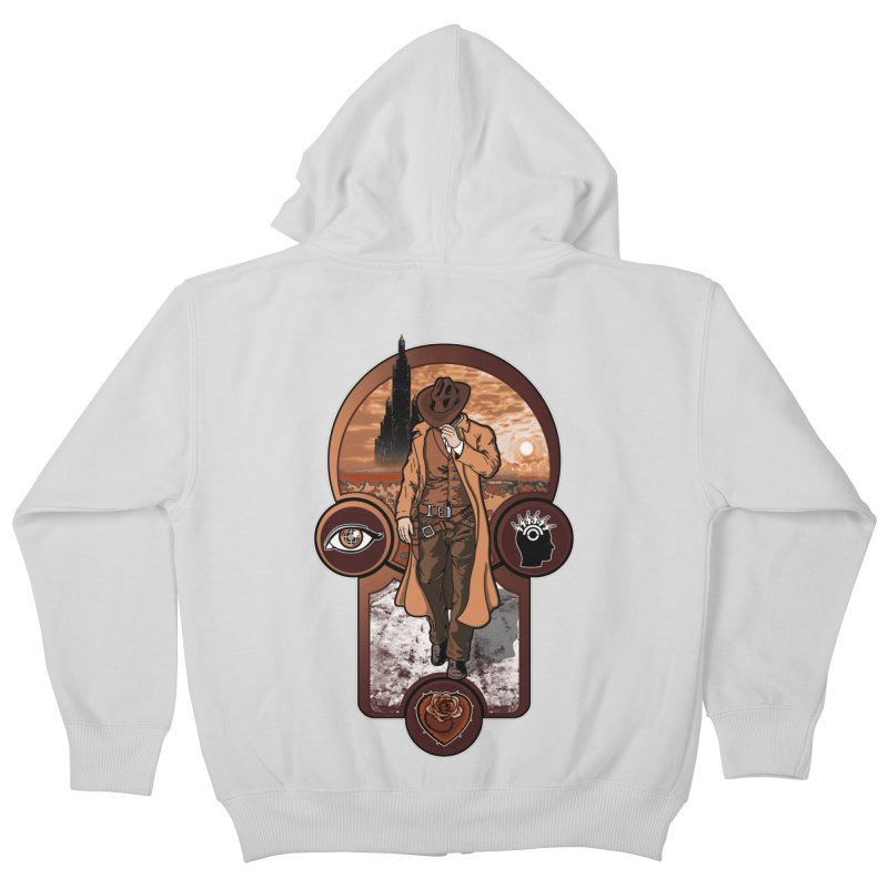 The gunslinger creed. Kids Zip-Up Hoody by JCMaziu shop