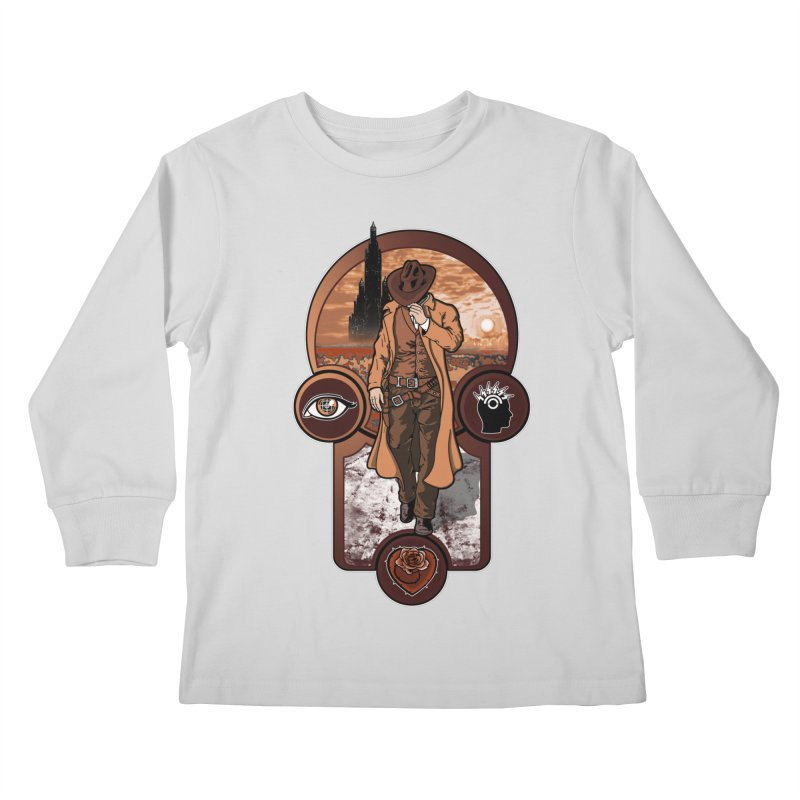 The gunslinger creed. Kids Longsleeve T-Shirt by JCMaziu shop