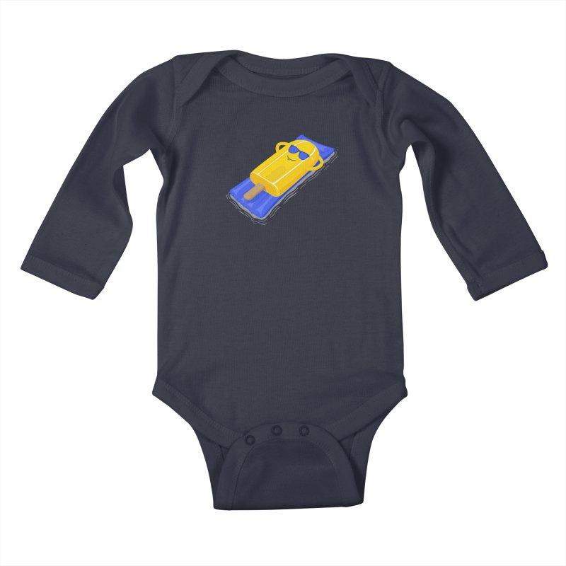 Just one summer.  Kids Baby Longsleeve Bodysuit by JCMaziu shop