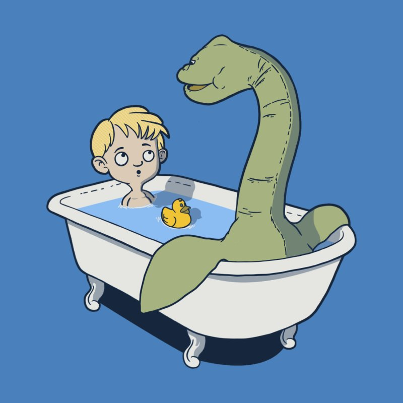 There's something in my bath.   by JCMaziu shop