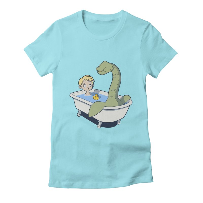 There's something in my bath. Women's Fitted T-Shirt by JCMaziu shop