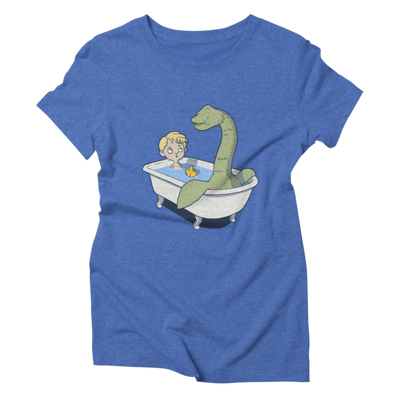 There's something in my bath. Women's Triblend T-shirt by JCMaziu shop