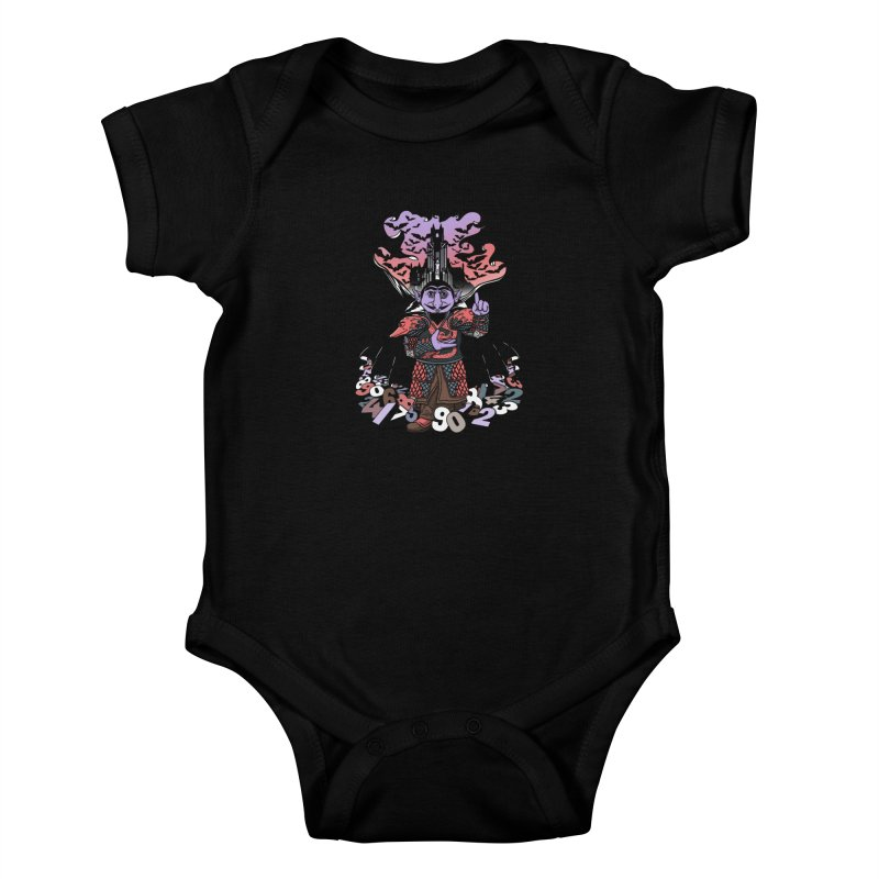 The Count Untold. Kids Baby Bodysuit by JCMaziu shop