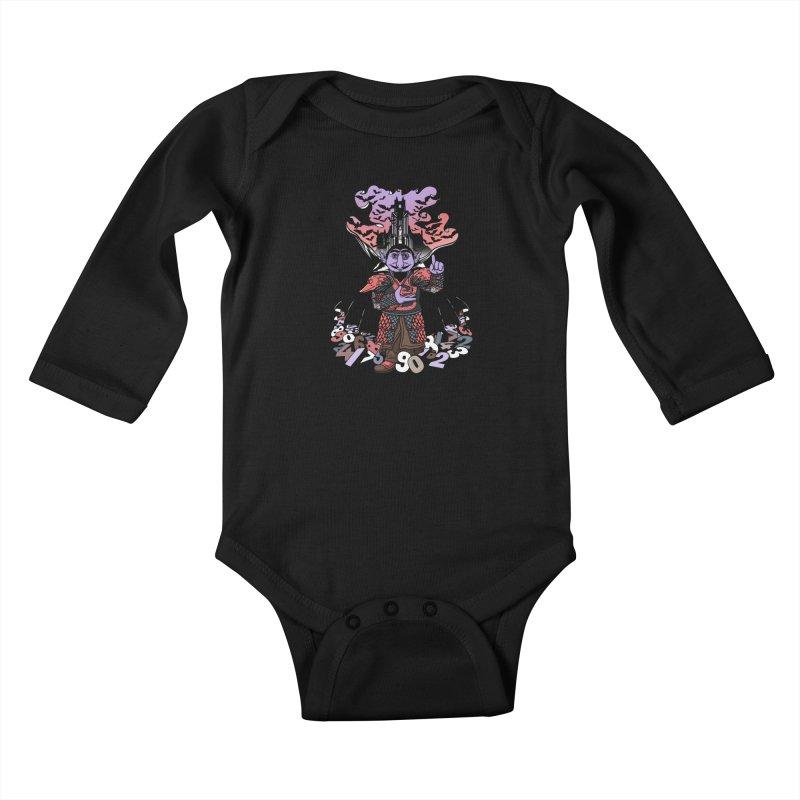 The Count Untold. Kids Baby Longsleeve Bodysuit by JCMaziu shop