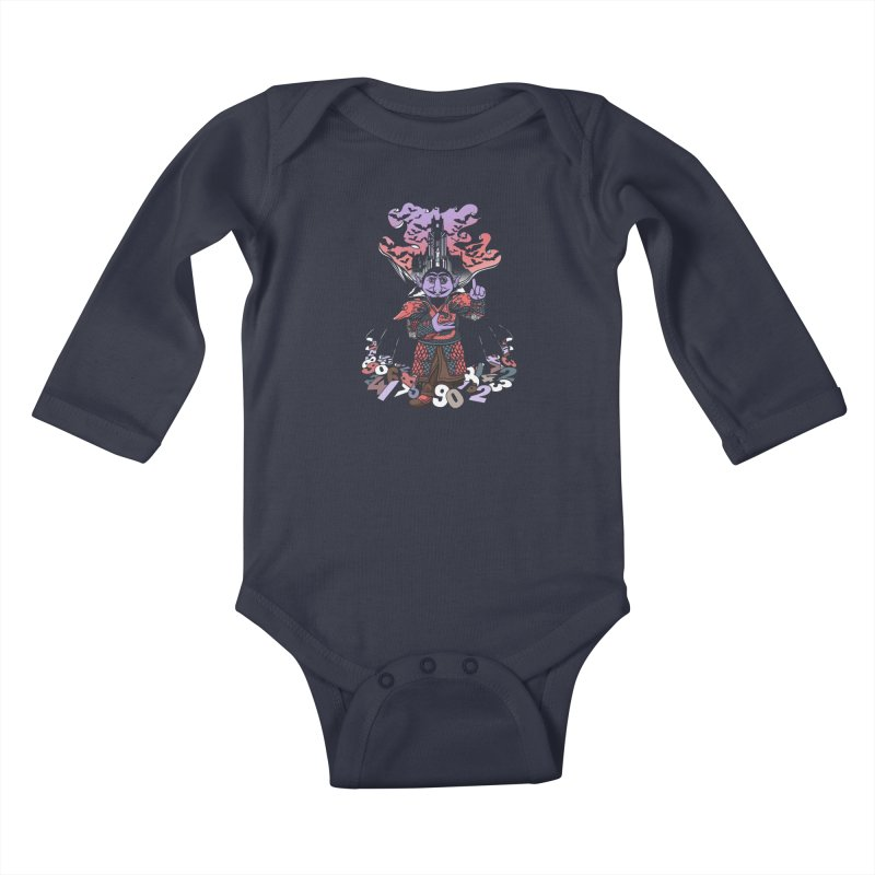 The Count Untold. Kids Baby Longsleeve Bodysuit by JCMaziu shop