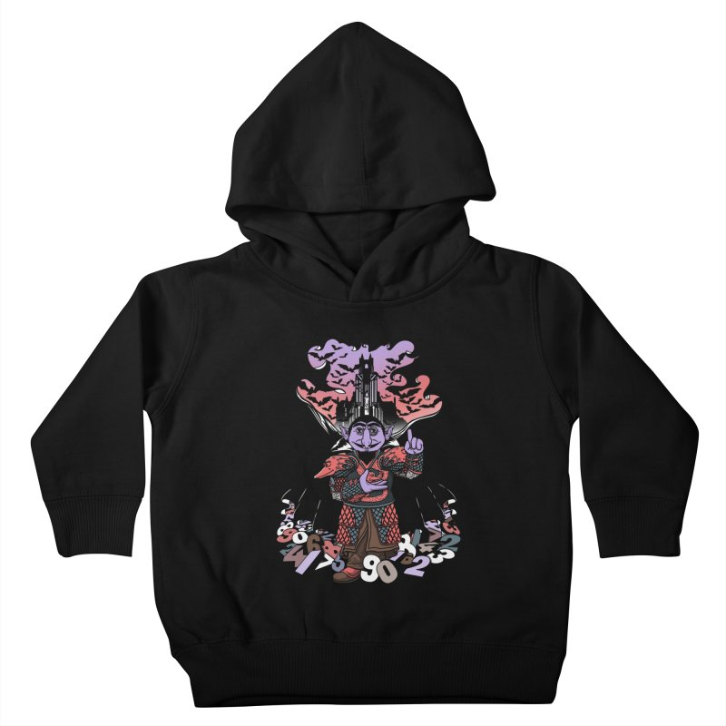 The Count Untold. Kids Toddler Pullover Hoody by JCMaziu shop