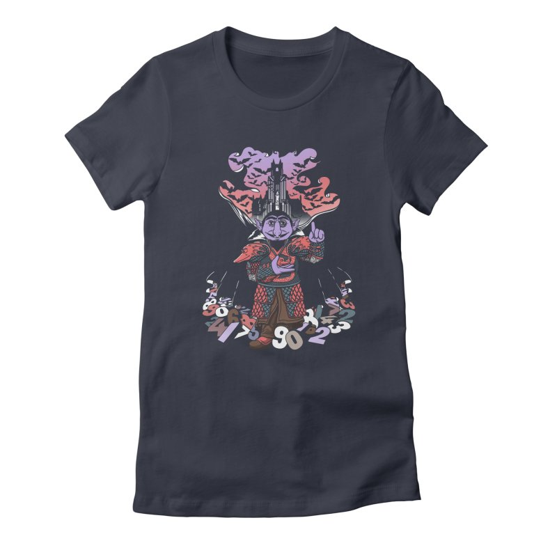 The Count Untold. Women's Fitted T-Shirt by JCMaziu shop