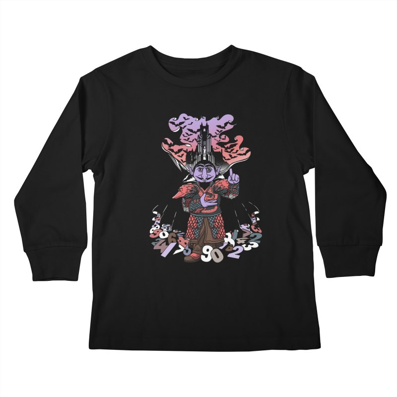 The Count Untold. Kids Longsleeve T-Shirt by JCMaziu shop