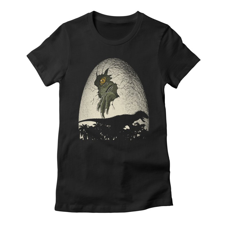 A nightmare is born. Women's Fitted T-Shirt by JCMaziu shop
