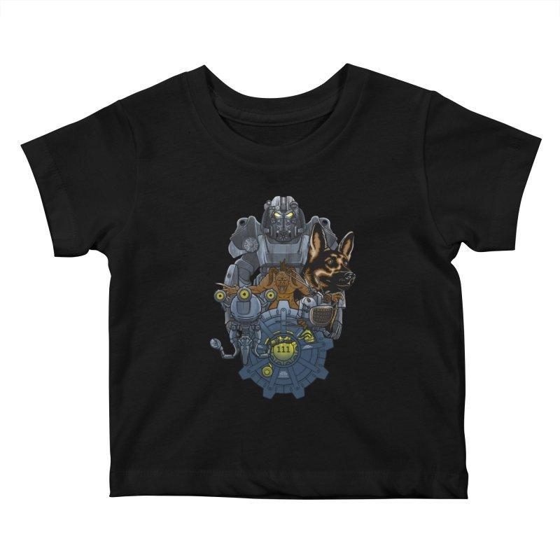 Welcome home. Kids Baby T-Shirt by JCMaziu shop