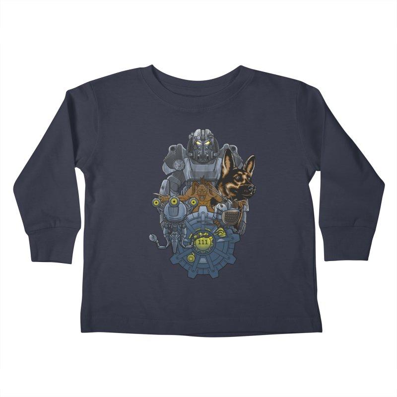Welcome home. Kids Toddler Longsleeve T-Shirt by JCMaziu shop