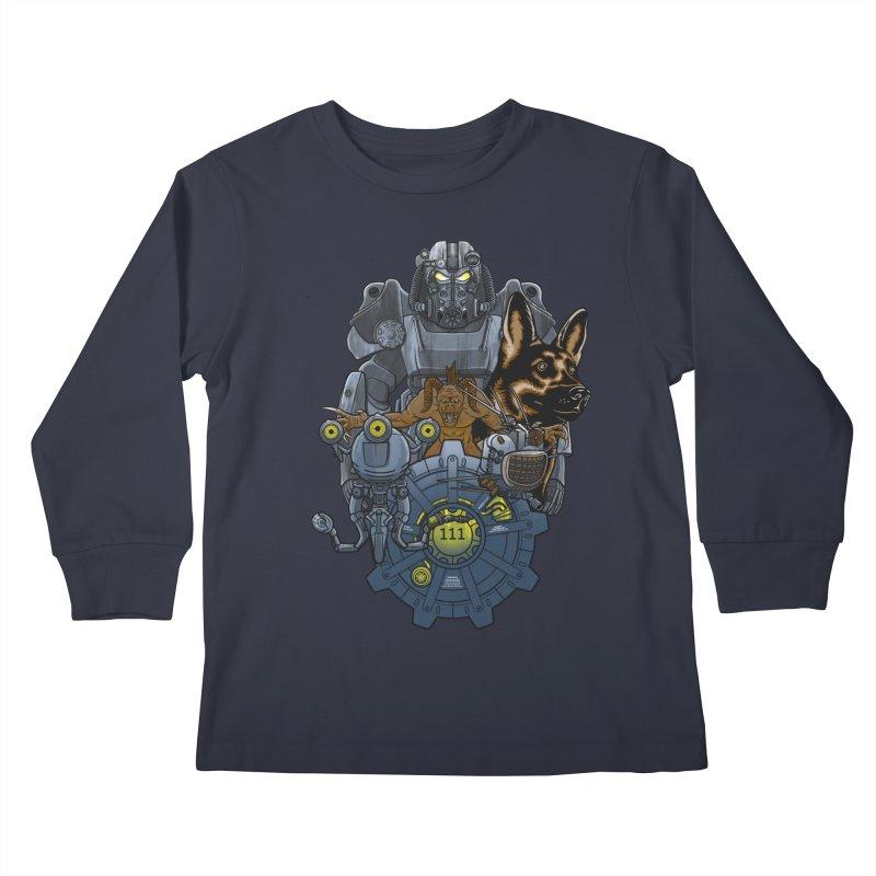 Welcome home. Kids Longsleeve T-Shirt by JCMaziu shop