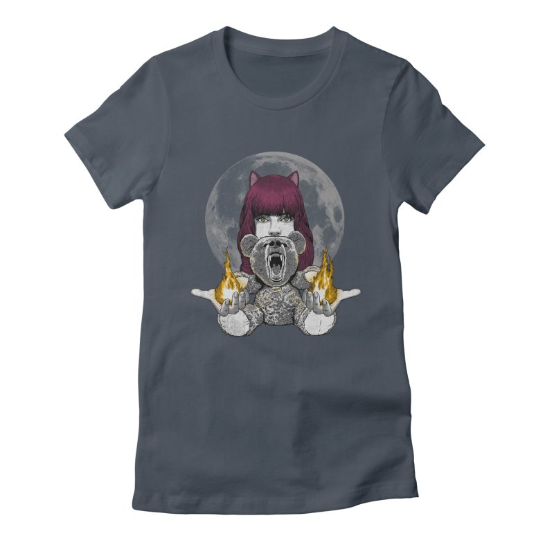 Have you seen my bear? Women's Fitted T-Shirt by JCMaziu shop