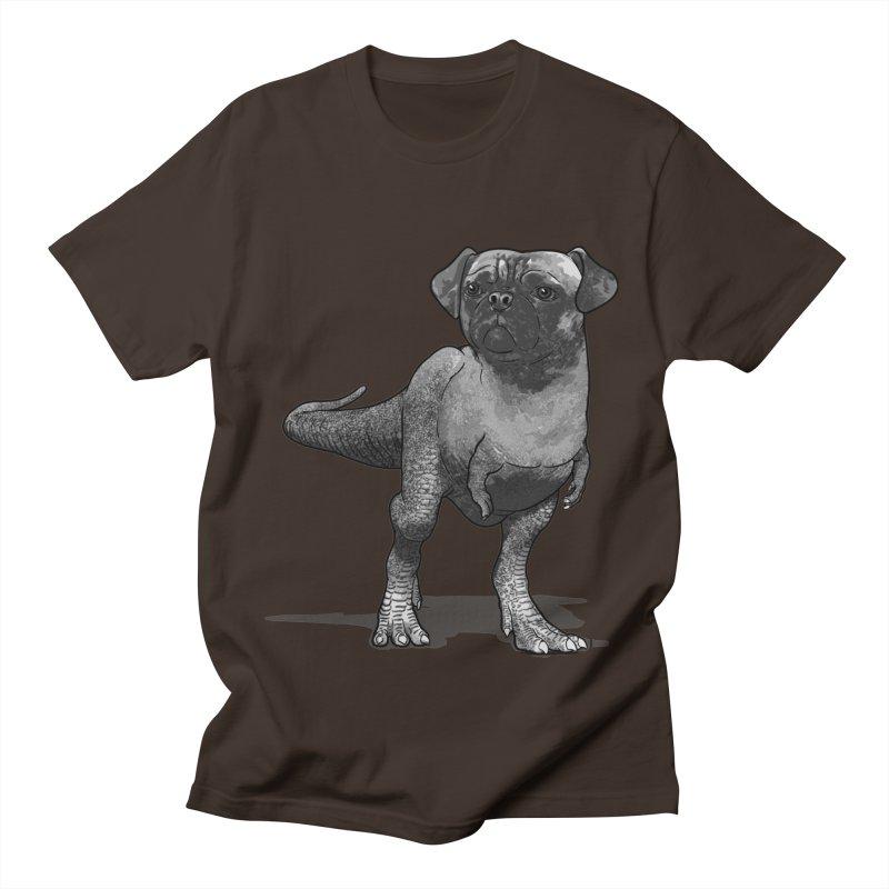 PUGussaurus Rex Men's T-Shirt by JCMaziu shop