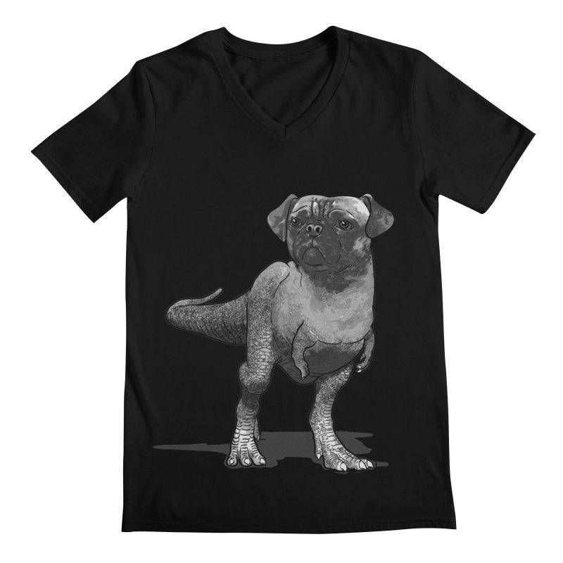 PUGussaurus Rex Men's V-Neck by JCMaziu shop