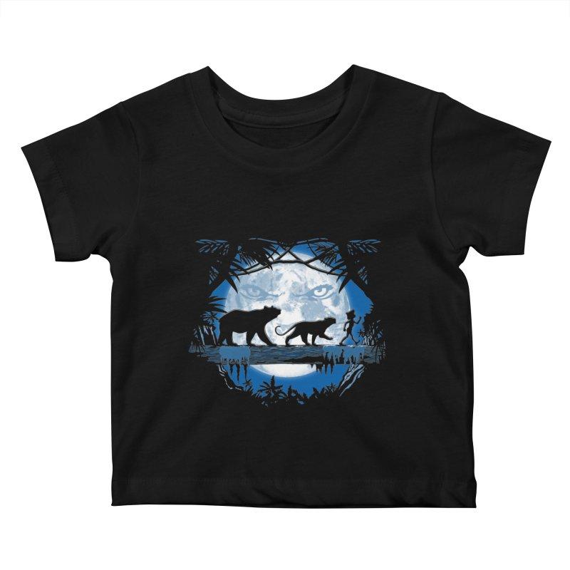 Jungle Pals. Kids Baby T-Shirt by JCMaziu shop