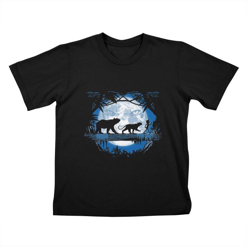 Jungle Pals. Kids T-Shirt by JCMaziu shop