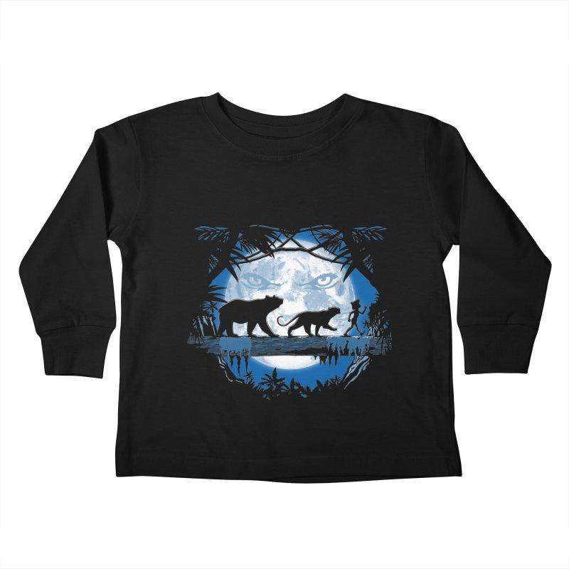 Jungle Pals. Kids Toddler Longsleeve T-Shirt by JCMaziu shop