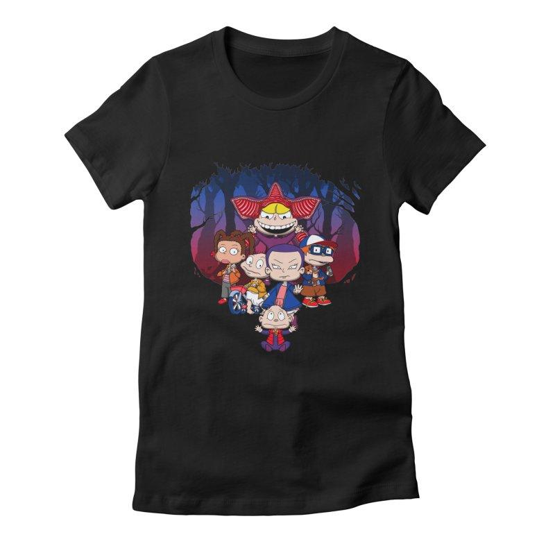 On Stranger Rugs. Women's Fitted T-Shirt by JCMaziu shop