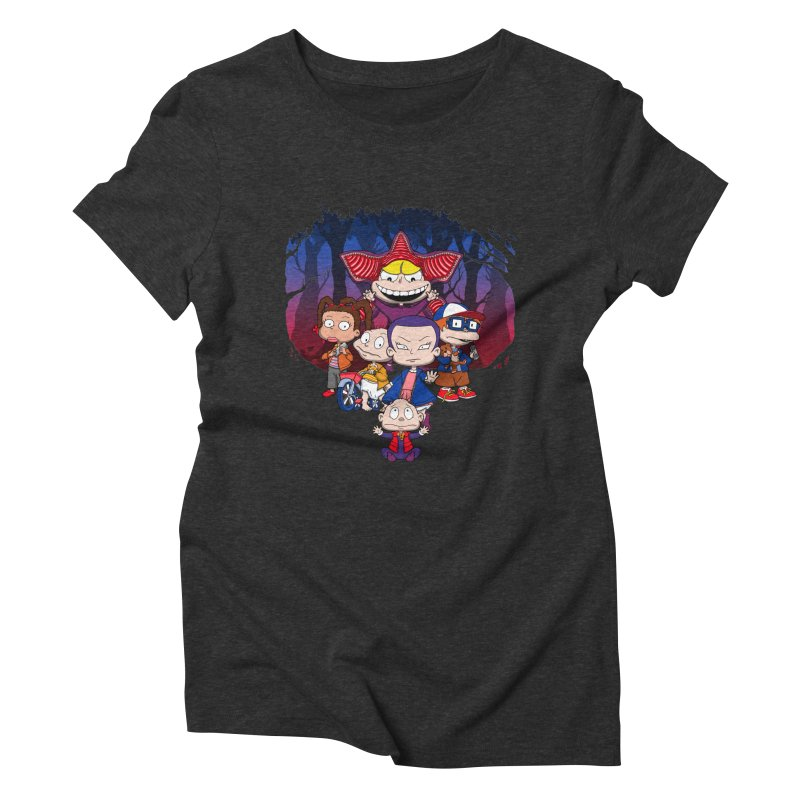 On Stranger Rugs. Women's Triblend T-Shirt by JCMaziu shop