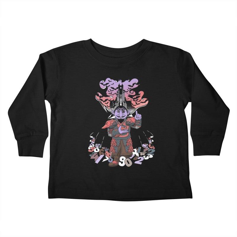 The Count Untold. Kids Toddler Longsleeve T-Shirt by JCMaziu shop