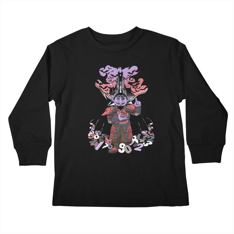 The Count Untold. Kids Longsleeve T-Shirt by JCMaziu shop