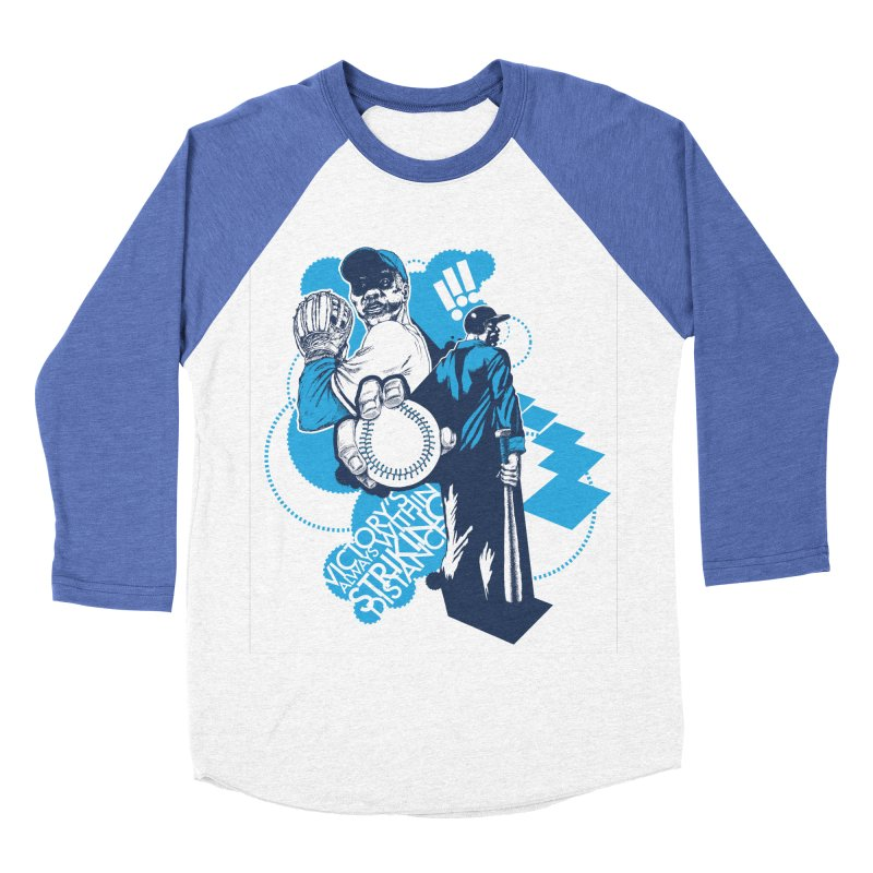 Within Striking Distance Men's Baseball Triblend T-Shirt by jconart's Artist Shop
