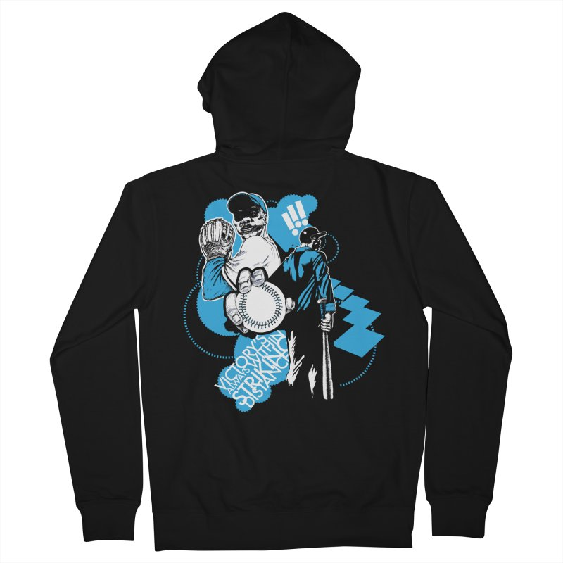 Within Striking Distance (black) Men's Zip-Up Hoody by jconart's Artist Shop
